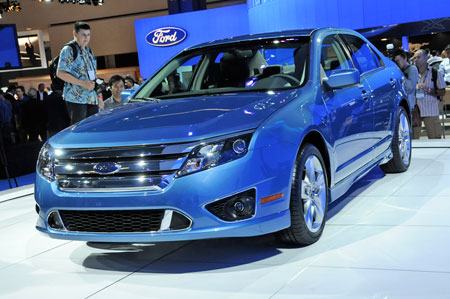 The 2010 Ford Fusion